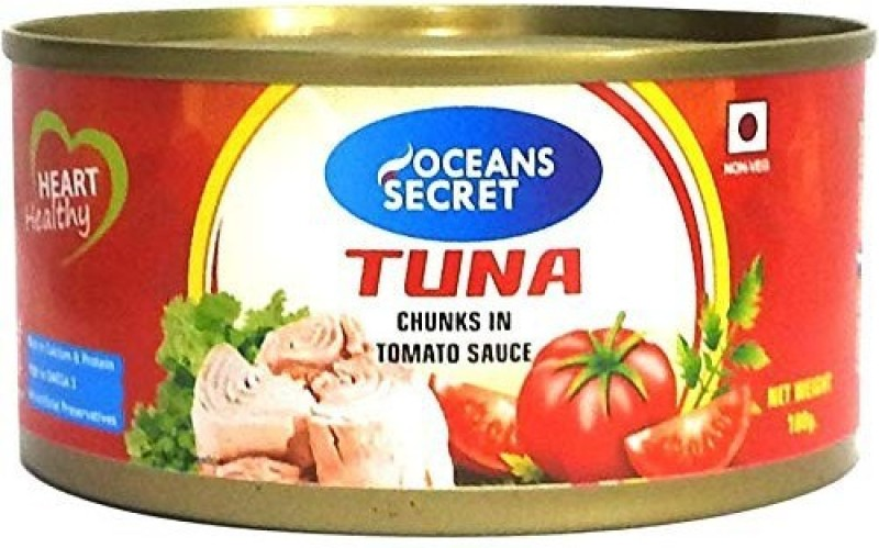 Oceans Secret Tuna in Tomato Sauce (Pack of 4) 180 g