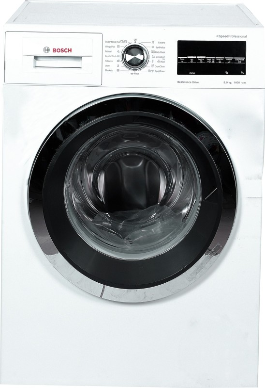 Bosch 8 kg Fully Automatic Front Load White(WAT28461 IN)