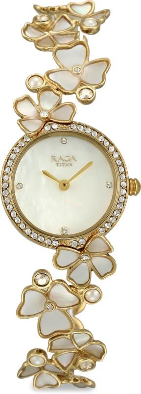 Titan 95030YM01 Raga Analog Watch - For Women