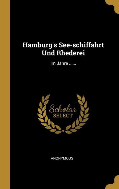 Hamburg(German, Hardcover, Anonymous)