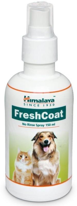Himalaya Himalaya Fresh Coat Whitening and Color Enhancing Fresh Coat Spray | Dry Bath | Coat Cleanser | For Puppies | Dog | Cat | Pet Product | By Lakhubhai - 150 ml Dog Shampoo(150 ml)