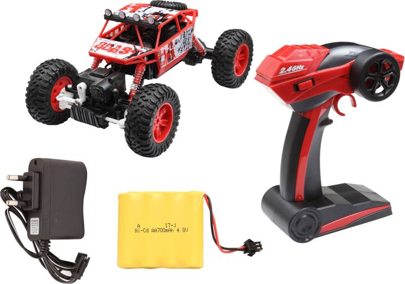 Miss & Chief Rock Crawler All-wheel-drive R/C Car with light...