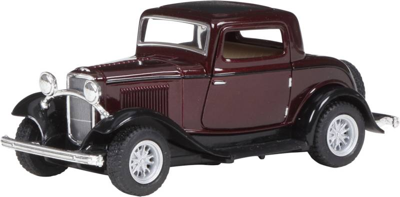Miss & Chief Ford 1932 Window coupe,Maroon