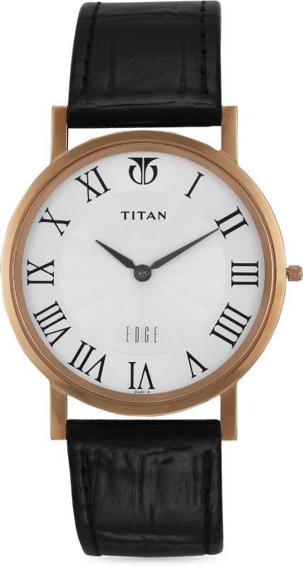 Titan NH1595WL01 Edge Analog Watch - For Men