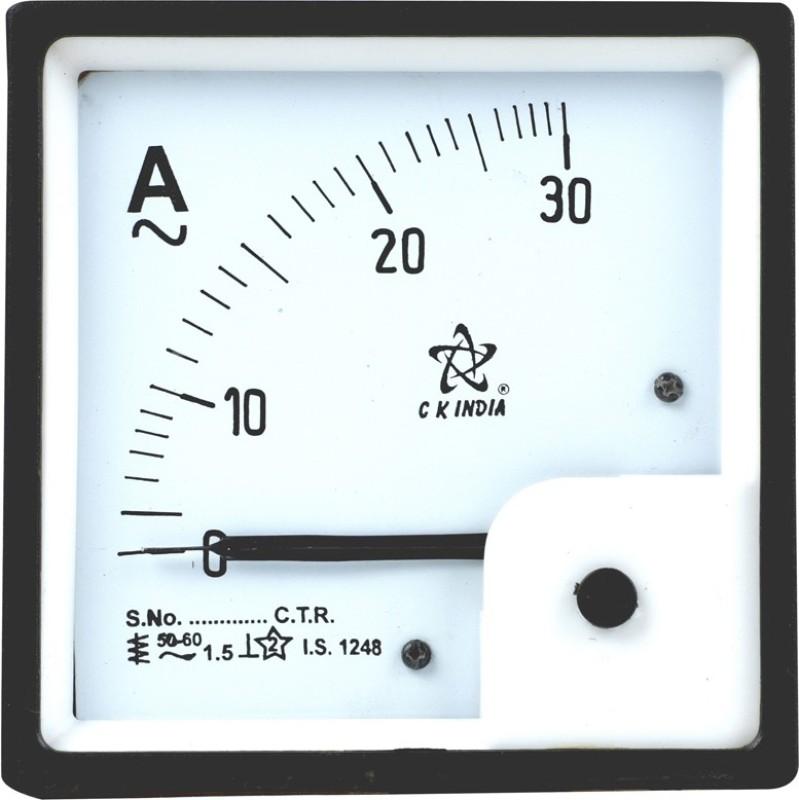CKINDIA 96MM CK INDIA AMMETER 30A Ammeter