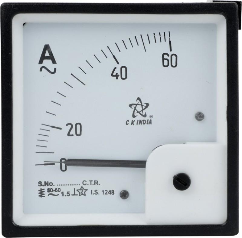 CKINDIA 96 MM CK INDIA AMMETER 60 Ammeter