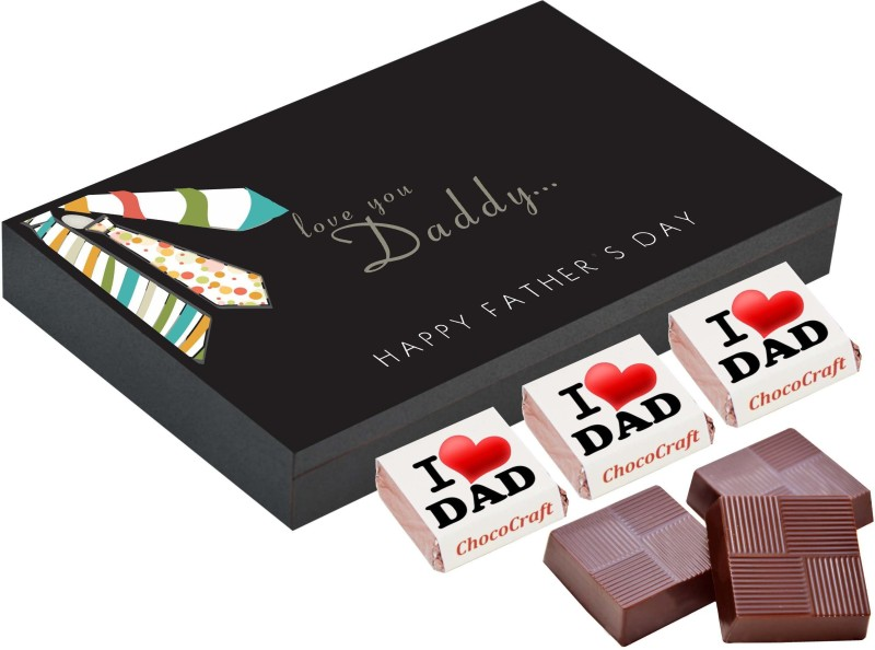 CHOCOCRAFT Fathers day gifts - 6 Chocolate Gift Box - Fathers day gift ideas from baby Truffles(225 g)