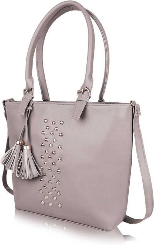 rita fashion Women Silver Hand-held Bag