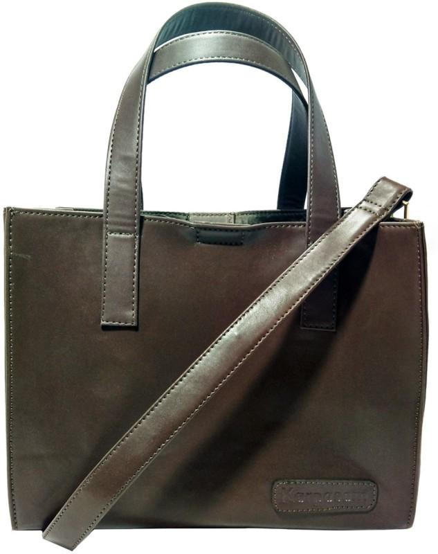 Karpasam Women Brown Hand-held Bag