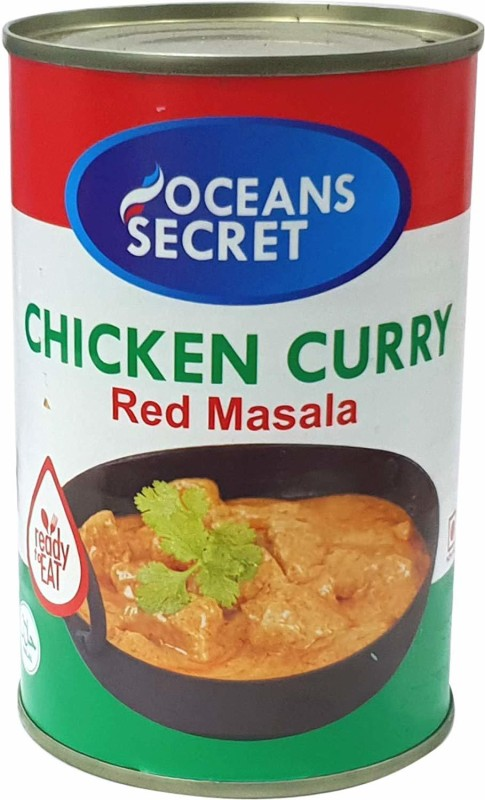 Oceans Secret Chicken Curry - Red Masala (Pack of 4) 425 g