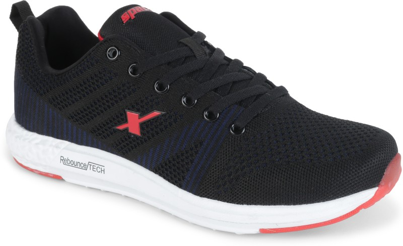 Sparx Men SM-379 Black Running Shoes For Men(Red, Black)