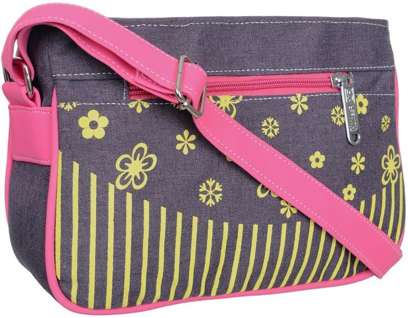 FD Fashion Women Pink, Blue, Yellow Sling Bag