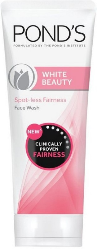 Ponds White Beauty Spot-less Clinically Proven Fairness Face Wash 100g Face Wash(100 g)