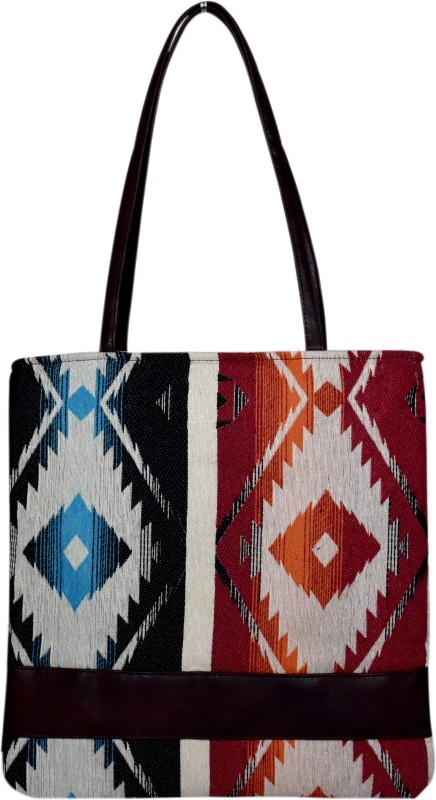 Berserk Women Red, Blue, Black Tote