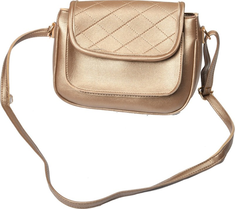 zulfi Gold Sling Bag