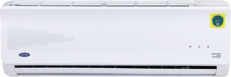 Carrier 1.2 Ton 5 Star Split Inverter AC - White(14K 5 STAR ESTER NEO INVERTER R32 ( I039) / 14K 5 STAR INVERTER R32 ODU (I039), Copper Condenser)
