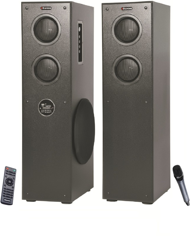 HD DIAMOND 1010BT 2 Tower Speaker(AUDIO)