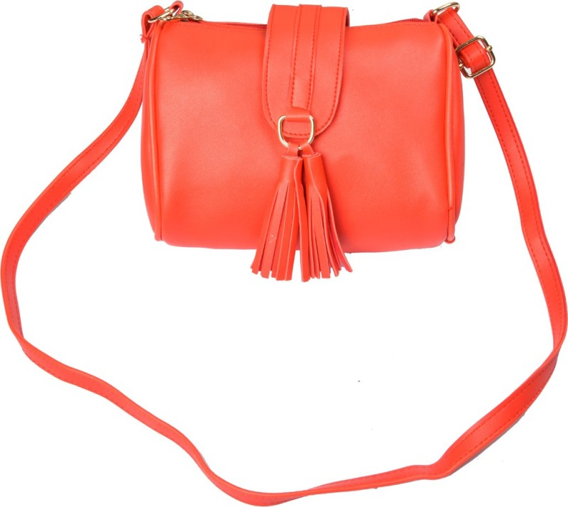 Zulfi Orange Sling Bag