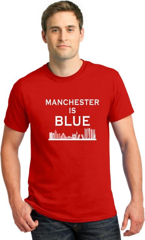CUPIDSTORE Graphic Print Men Round Neck Red T-Shirt