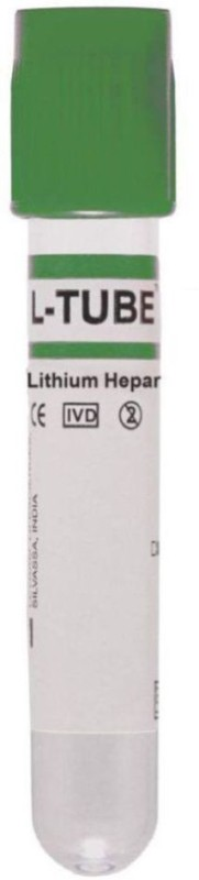 LEVRAM 6 ml Rimmed Polyethylene Test Tube(10 cm 298.15 K Pack of 100)