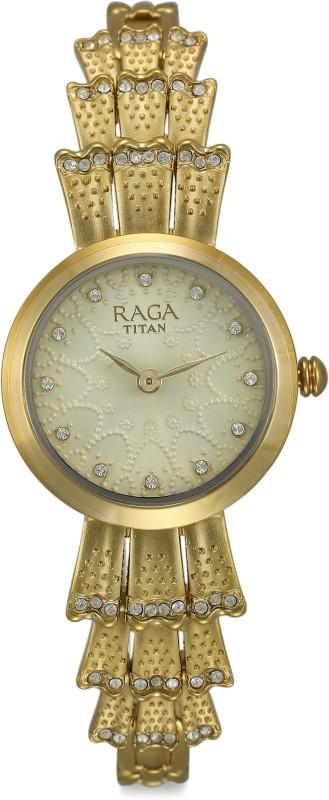 Titan 95044YM01J Raga Analog Watch - For Women