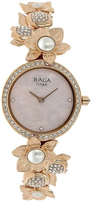 Titan 95043WM01J Raga Analog Watch - For Women