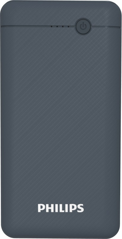 PHILIPS 10000 mAh Power Bank (10 W, Fast Charging)(Blue, Lithium Polymer)