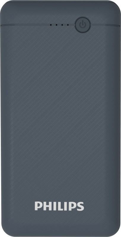 Philips 20000 mAh Power Bank (Fast Charging, 10 W)(Blue, Lithium Polymer)
