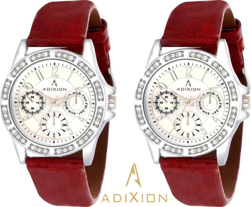 ADIXION AD9401SL0202 New Chronograph Pattern Analog Watch - For Women