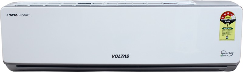 Voltas 1.5 Ton 4 Star Split Inverter AC - White(184V SZS (R32), Copper Condenser)