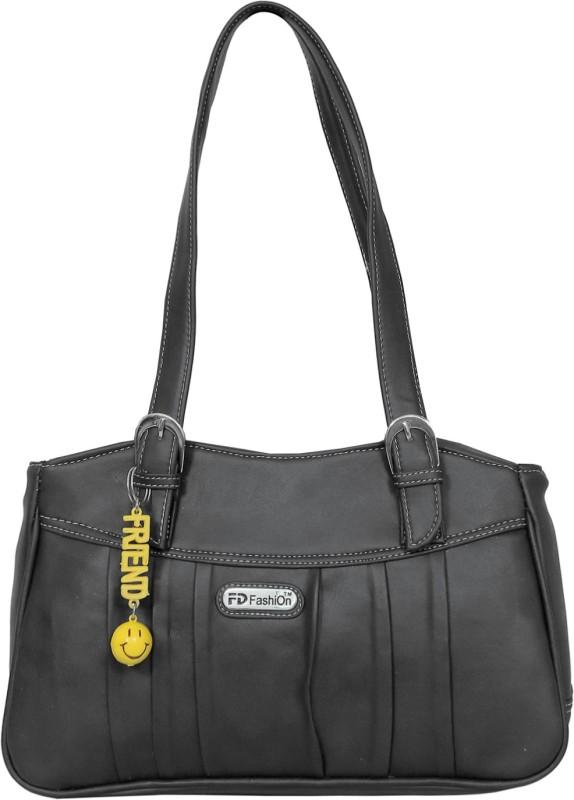 FD Fashion Women Women Black Shoulder Bag