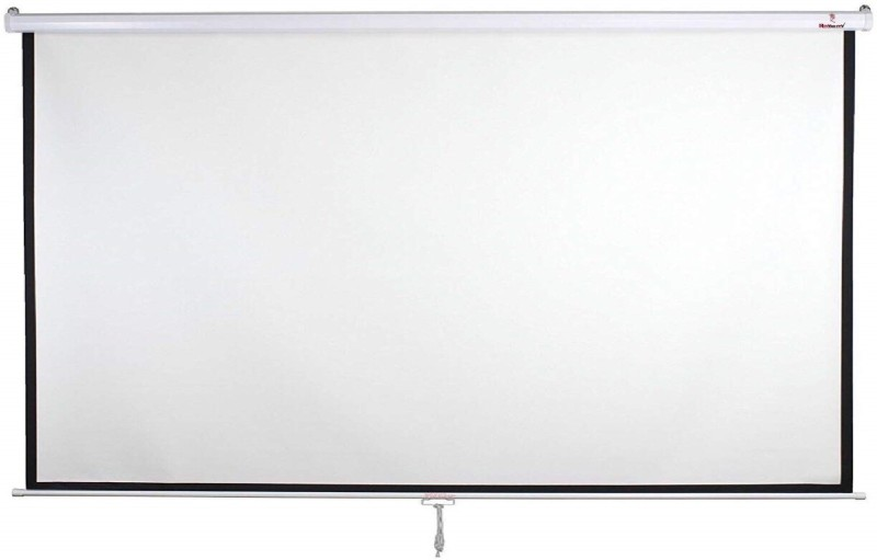Royality Autolock Imported Projector Screen Multicolour Projector Screen (Width 213 cm x 152 cm Height)