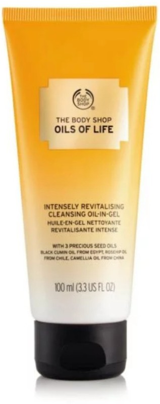The Body Shop Oils of Life™ Intensely Revitalising Cleansing Oil-In-Gel(100 ml)