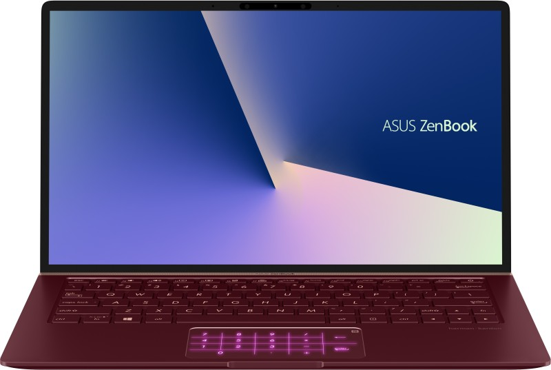 Asus ZenBook 13 Core i7 8th Gen - (8 GB/512 GB SSD/Windows 10 Home/2 GB Graphics) UX333FN-A4160T Thin and Light Laptop(13.3 inch, Burgundy Red, 1.19 kg)
