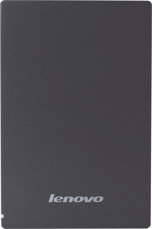 Lenovo 2 TB External Hard Disk Drive(Grey)
