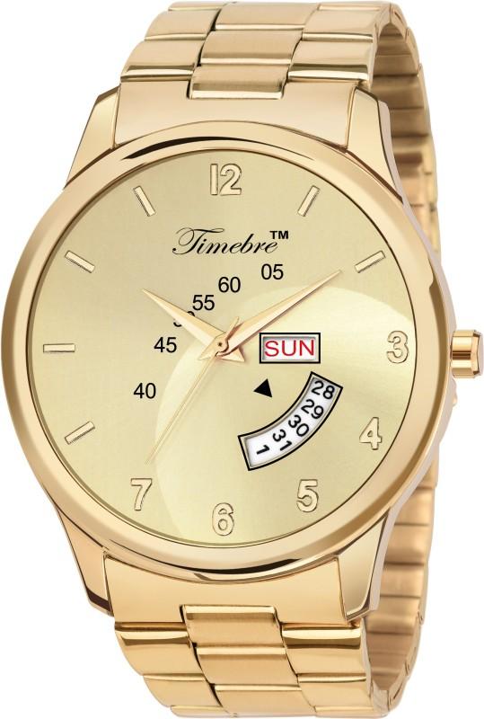 Timebre MXGLD221-5 Original Gold Plating Analog Watch  - For Men