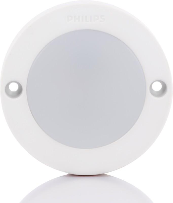 Philips 3W StarSurface Striker Cabinet Warm White Flush Mount Ceiling Lamp