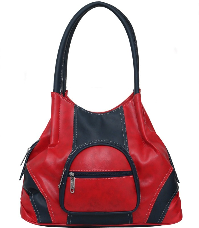 FD Fashion Soft Luggage Women Red, Blue Shoulder Bag