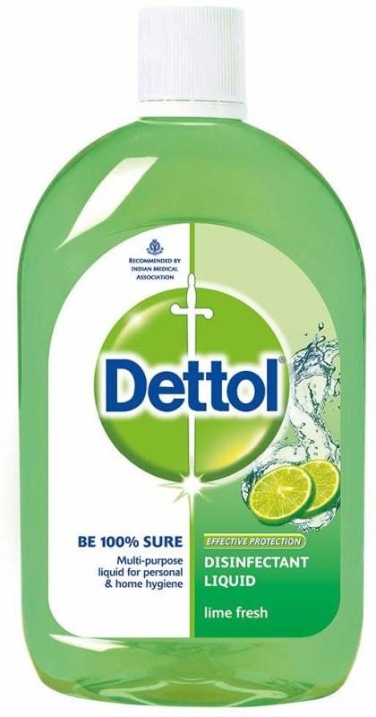 Dettol Disinfectant Lime Fresh (500 ml) Antiseptic Liquid(500 ml)