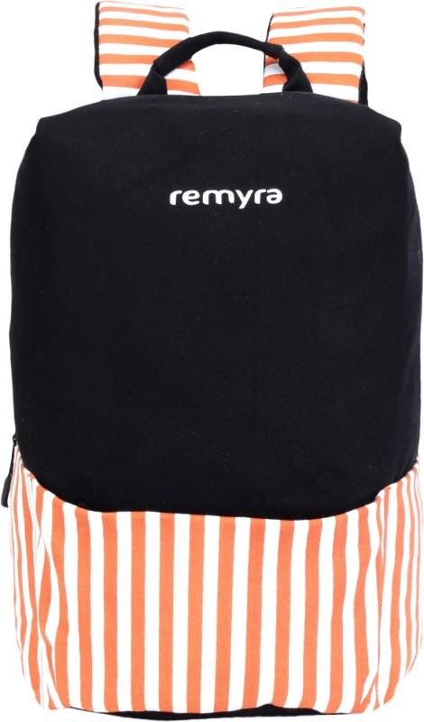 Remyra Laptop Bagpack Shoulder Bag 29 L Laptop Backpack(White, Black, Orange)