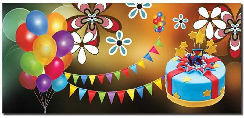 Ultra Happy Birthday Greetings Gift Cash Cover Money (3D Envelope Pack of 10) Envelopes(Pack of 10 Multicolor)