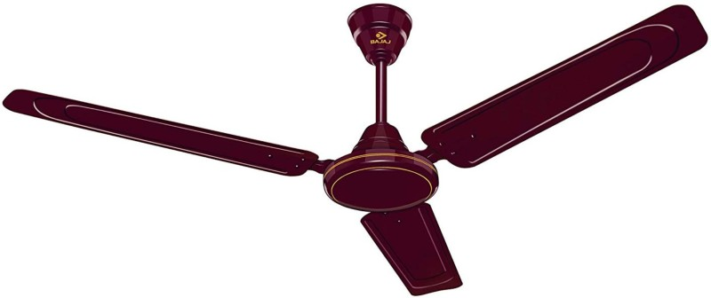 Bajaj EDGE HS 1200 1200 mm 3 Blade Ceiling Fan(BROWN, Pack of 1)