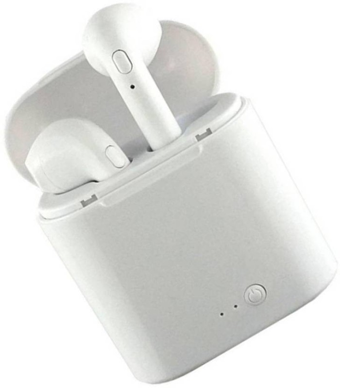 NICK JONES I7S TWS Twins Wireless Ear buds Mini Bluetooth Headset Bluetooth Headset(White, In the Ear)