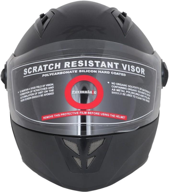 FORMULATE ZR Motorbike Helmet(Black)