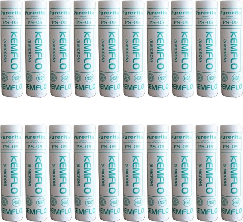 compatible NSW5 sédiments filtre 5 µ Cartouche-Pack de 4 Kemflo PS05-10