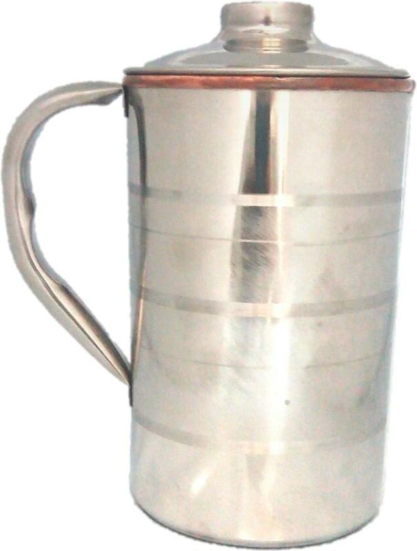 Tarun Traders Copper Steel Diamond 1.75 L Water Jug(1.75 L)