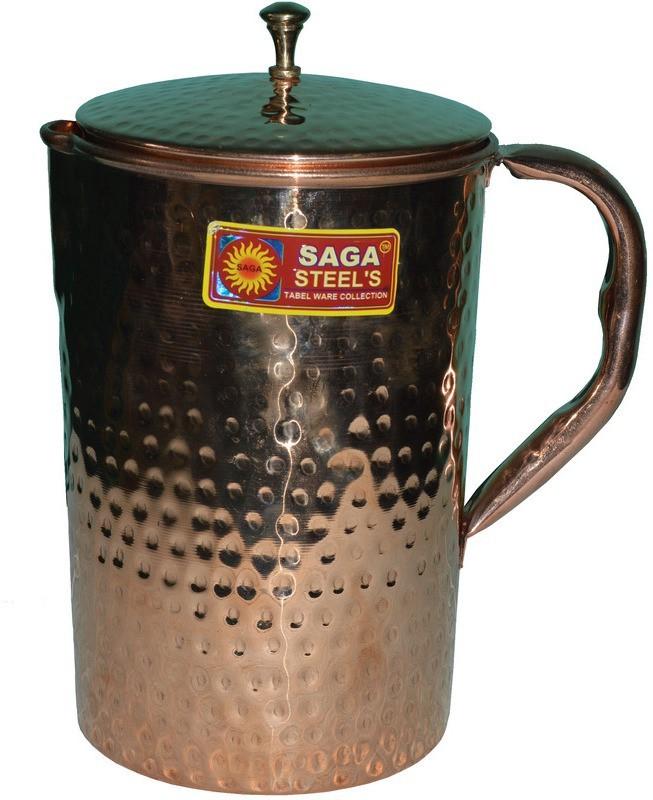 Saga Hammered Design Water Jug(2 L)