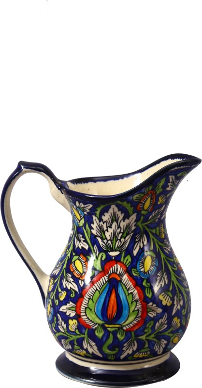 Caffeine Blue Jaipuri Water Pitcher(1.9 L)