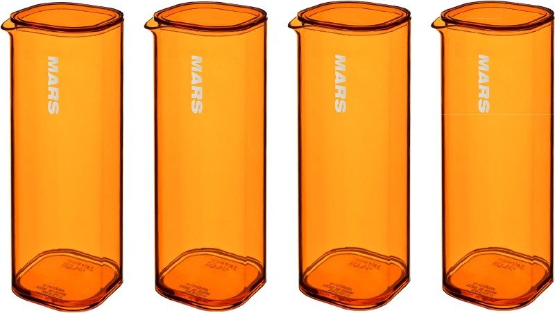 Jaypee Plus Mars Water Jug(1 L, Pack of 4)