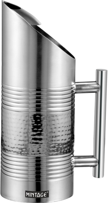 Mintage Water Pitcher (Hammered) Water Pitcher(1.5 L)